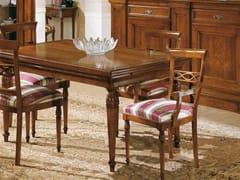 Sedia in legno massello con braccioliSTILE | Sedia con braccioli - ARVESTYLE