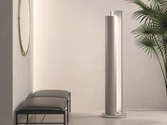 Termoarredo verticale in alluminio con illuminazione LedSTILUS DOUBLE ELEC LED - CALEIDO