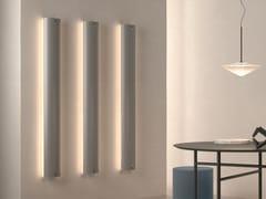 Termoarredo in alluminio a parete con illuminazione LedSTILUS WALL - CALEIDO