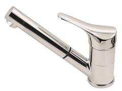 Miscelatore da cucina monocomando in ottone con bocca girevoleSTING | Miscelatore da cucina - ROBERTO CROLLA