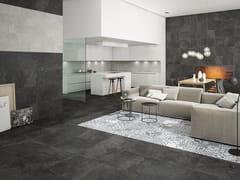 Pavimento/rivestimento in gres porcellanato smaltato effetto pietraSTONE BOX - HIJOS DE F. GAYA FORES
