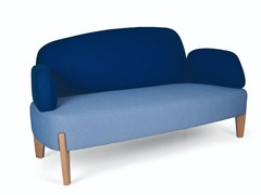 Divano in tessuto a 2 postiSTONE DOUBLE 2CB - FENABEL - THE HEART OF SEATING