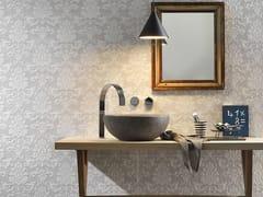 Rivestimento tridimensionale in ceramica a pasta bianca effetto pietraSTONE PLAN WALL JACQUARD GRIGIO - ITALGRANITI