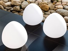 Lampada da tavolo a LED in plastica con sistema RGBSTONE - SMART AND GREEN