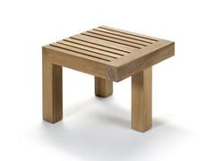 Tavolino basso da giardino quadrato in teakNARA | Tavolino - ROYAL BOTANIA
