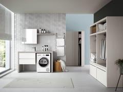 Mobile lavanderia con cassetti per lavatriceSTORE 04 - GRUPPO GEROMIN