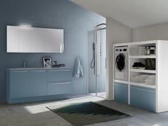 Mobile lavanderia con lavatoioSTORE 05 - GRUPPO GEROMIN