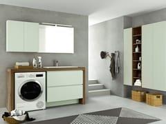 Mobile lavanderia con cassetti per lavatriceSTORE 06 - GRUPPO GEROMIN