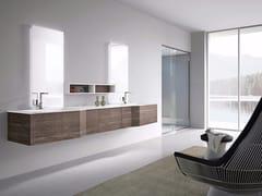 Mobile lavabo doppio sospeso con specchio STR8 - 05 -