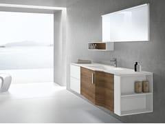 Mobile lavabo sospeso con cassetti STR8 109 - Str8