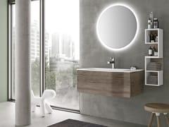 Mobile lavabo sospeso con cassetti STR8 301 - Str8