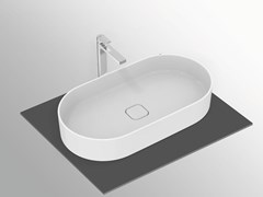 Lavabo da appoggio ovale in ceramicaSTRADA II - T2980 - IDEAL STANDARD ITALIA
