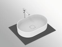 Lavabo da appoggio ovale in ceramicaSTRADA II - T2981 - IDEAL STANDARD ITALIA