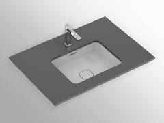 Lavabo da incasso sottopiano rettangolare in ceramica con troppopienoSTRADA II - T2992 - IDEAL STANDARD ITALIA