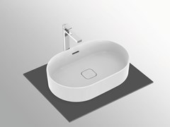 Lavabo da appoggio ovale con troppopienoSTRADA II - T3604 - IDEAL STANDARD ITALIA