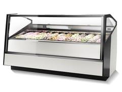 Vetrina refrigerata da bancone per gelatiSTRATOS | Vetrina refrigerata per gelati - ISA