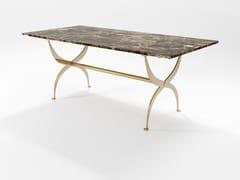 Tavolo da pranzo rettangolare in marmoSTRAUSS | Tavolo in marmo - BAREL