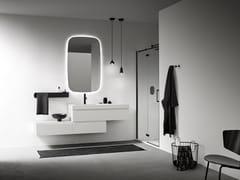 Mobile lavabo sospeso con cassettiSTREET 02 - ARBI ARREDOBAGNO