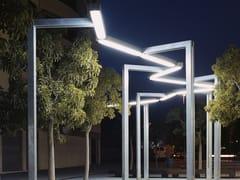 Lampione stradale a LED in acciaio zincatoVÍA LÁCTEA | Lampione stradale - URBIDERMIS