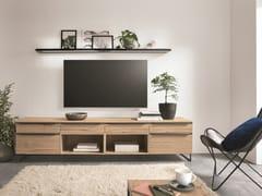 Mobile TV in legno con cassettiSTRUCTURA 405 - NOBILIA-WERKE J. STICKLING