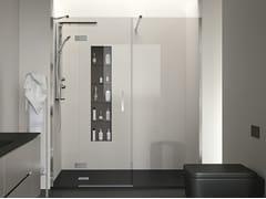 Box doccia a nicchia con porta a battente STYLÉ | Box doccia a nicchia - Stylé