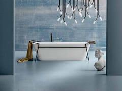 Vasca da bagno centro stanza rettangolare in materiale composito in stile modernoSTYLE PLUS CAPSULE N.1 27 - CERASA