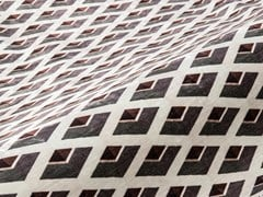 Tessuto con motivi graficiSTYLISH VELVET - ALDECO, INTERIOR FABRICS