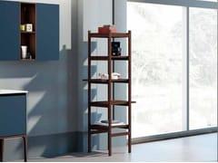 Mobile bagno a colonna a giorno in frassino SU16 | Mobile bagno - Suite