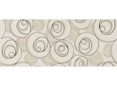 Rivestimento in ceramica a pasta bianca SUITE CURL MOKA - Suite