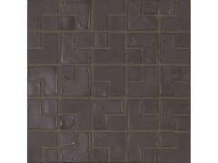 Mosaico in vetroSUMI-E LAMBDA | Ebano - NEROSICILIA GROUP