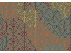 Tappeto rettangolare Jacquard stampato a tessituraSUMMER DARK | Tappeto rettangolare - MEMEDESIGN