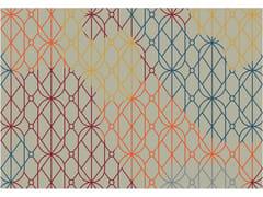 Tappeto rettangolare Jacquard stampato a tessituraSUMMER LIGHT | Tappeto rettangolare - MEMEDESIGN