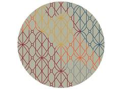 Tappeto rotondo Jacquard stampato a tessituraSUMMER LIGHT | Tappeto rotondo - MEMEDESIGN