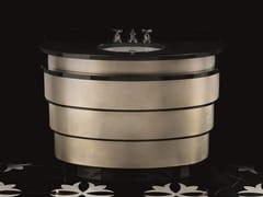 Mobile lavabo con cassettiSUMMERTIME ALUMINIUM LEAF - DEVON&DEVON