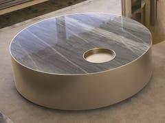 Tavolino basso in marmo SUN   Tavolino basso - Loveluxe Vanity