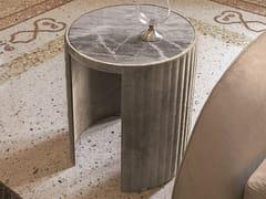 Tavolino rotondo in marmo SUN | Tavolino in marmo - Loveluxe Vanity
