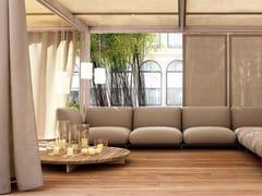 Tavolino basso rotondo in legno SUNSET | Tavolino rotondo - Sunset