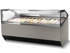 Vetrina refrigerata da bancone per gelatiSUPERCAPRI | Vetrina refrigerata per gelati - ISA