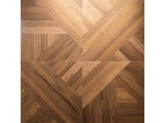 Rivestimento tridimensionale modulare in legno per interniSUPERFICIE VERTICALE TRIBECA PLANKS - LATIFOGLIA