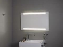KOH-I-NOOR, SUPERIORE E INFERIORE LED Specchio con illuminazione integrata per bagno