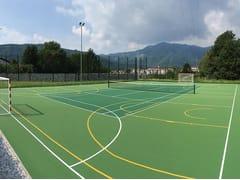 Pavimentazione per campi da tennis SUPERSOFT DOPPIO -