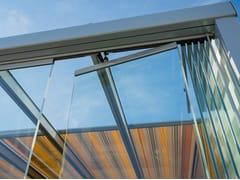 Pareti Esterne In Vetro : Pareti mobili scorrevoli in vetro
