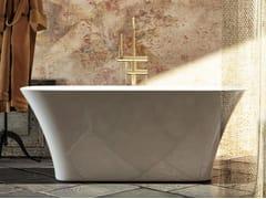 Vasca da bagno centro stanza rettangolare in Luxolid®SVASE | Vasca da bagno centro stanza - RELAX DESIGN