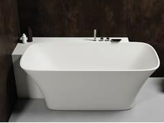 Vasca da bagno a semincasso rettangolare in Luxolid®SVASE | Vasca da bagno a semincasso - RELAX DESIGN
