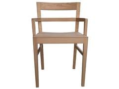 Poltrona in legno con braccioliSVEVA   Sedia con braccioli - 4PLUS1 ITALIA