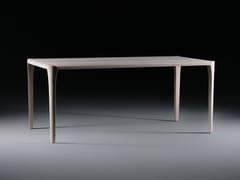 Tavolo rettangolare in legno masselloSWEL - ARTISAN