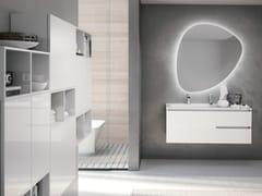 Mobile lavabo sospeso con specchioSWING 11 - BMT