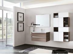 Mobile lavabo sospeso con specchioSWING 14 - BMT