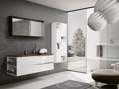 Mobile lavabo sospeso con specchioSWING 15 - BMT