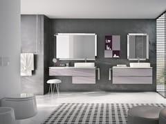 Mobile lavabo sospeso con specchioSWING 17 - BMT